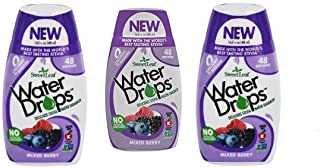 Sweetleaf Water Drops (Mixed Berry), 1.62 Fl Oz (Pack of 3)