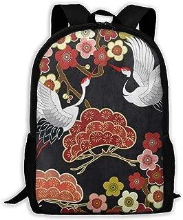 Backpack Four Leaf Clover Hipster Pug Dog Nigh Shoulder Bag School Back Pack Travel Bags Laptop Back pack For Women Men