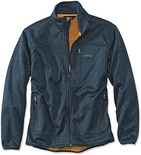 Orvis Men's Windproof Sweater Fleece Jacket, Deep Blue, XX Large