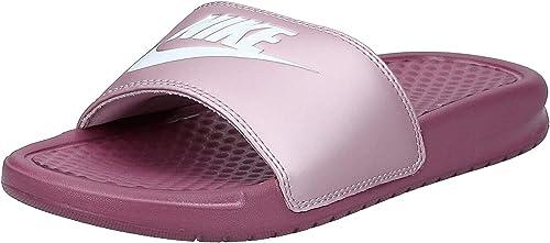 Nike WMNS Benassi JDI, Chaussure de Gymnastique Femme, Shadow ...