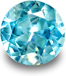 【鑑別付】天然 ブルー ジルコン2.081ct ルース 原石【加工承ります】