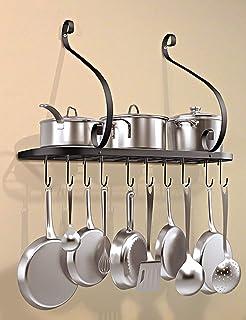 Amazon Com Pot Racks Small Size Pot Racks Cookware Home Kitchen