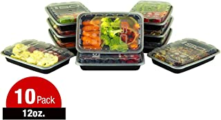 Meal Prep Containers - 12oz 10pk by Isolator Fitness