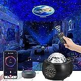 Proyector LED de cielo estrellado (2021) 3 en 1, proyector de luz de galaxia, proyector de luz nocturna con 32 modos de color y luz para niños y adultos, planetario en casa