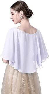 Wedding Capes Bridal Capelet Chiffon Shrug Shawls and Wraps for Evening Dress