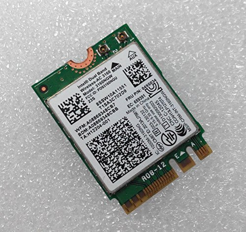 Intel Dual Band Wireless-AC 3160NGW ac316004x 603404x 6076NGFF WLAN + BT4.0Karte für Lenovo Y40Y50E10–30E455E555