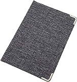Ausweisetui / Ausweishülle / Ausweistasche / Kreditkartenetui / Kartenetui mit Metallschutzecken 4 Fächer in Grau