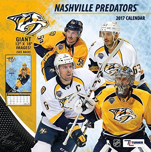 "Turner Licensing Sport 2017 Nashville Predators Team Wall Calendar, 12""X12"" (17998011946)"
