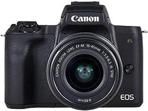 Canon EOS M50-24.1 MP SLR Camera Body, Black