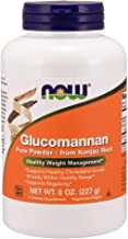 NOW Supplements, Glucomannan (Amorphophallus konjac)Pure Powder, 8-Ounce