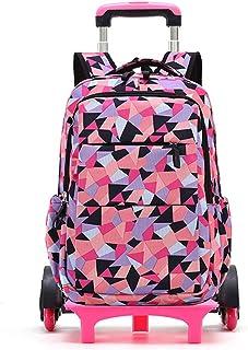 حقيبة مدرسية بعجلات حقيبة سفر حقيبة ظهر بعجلات بعجلات بعجلات للأطفال