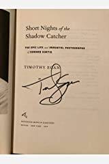 Short Nights of the Shadow Catcher: The Epic Life and Immortal Photographs of Edward Curtis Hardcover