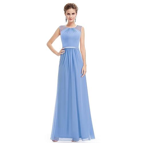 d34c0d2367536 Ever Pretty Maxi Long Sleeveless Chiffon Wedding Bridesmaid Dresses 08742