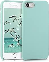 kwmobile Funda para Apple iPhone 7 / 8 - Carcasa de TPU para teléfono móvil - Cover trasero en menta