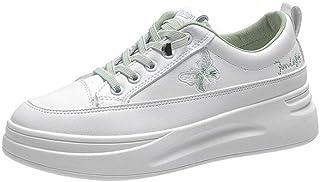 ZOSYNS Vrijetijdsschoenen voor dames, zeildoekschoenen, outdoorschoenen, damesschoenen met verhoogde platte schoenen, maat...