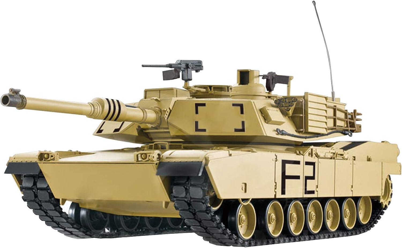 RC Panzer 1 16 U.S.M1A2 Abrams 2.4 GHz Wüstenlackierung - Rauch&Sound