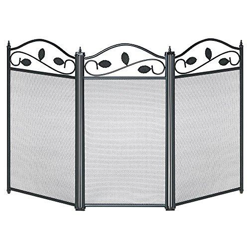Papillon 22020550 – Écran pare-feu de cheminée, ornemental - Dimensions : 61 x 98 cm