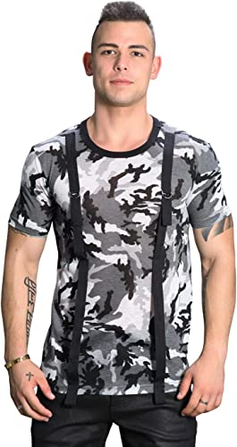 Andrew Christian T-Shirt Strap Camouflage