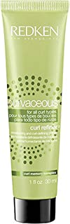 Redken Curvaceous Curl Refiner for All Curl Types, 1 Ounce