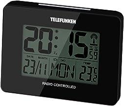 TELEFUNKEN FUD-40 Radio Despertador con Pantalla LCD, plá