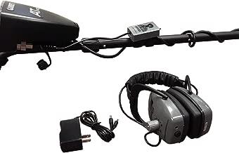 Gray Ghost Wireless Headphones for Garrett Metal Detectors