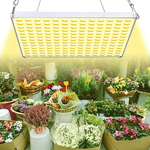 YASBED LED Pflanzenlicht 75W Pflanzenlampe Vollspektrum Wachstumslicht für Zimmerpflanzen, sonnenähnliches Pflanzenlicht für Saatgut, das wächst, blüht und Früchte trägt, Hydroponik, Mikrogrün, Klone