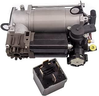 Air Suspension Compressor for Mercedes-Benz CLS500 CLS55 CLS550 E320 E500 S600 S430 W220 W211 W219 Air Pump w/Relay 2203200104