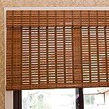 Tende a rullo Tende for for Balconi nel Patio Esterno, Tende Avvolgibili in bambù con Mantovana, for Tende da Sole, Larghezza 50/60/70/80/100/120/130/140 Cm (Size : 140x160cm)
