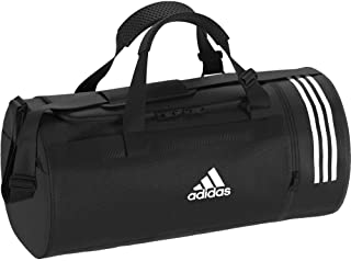 2df87f7636 adidas Convertible 3-Stripes Sac de Sport Moyen Format Mixte Adulte,  Black/Grey