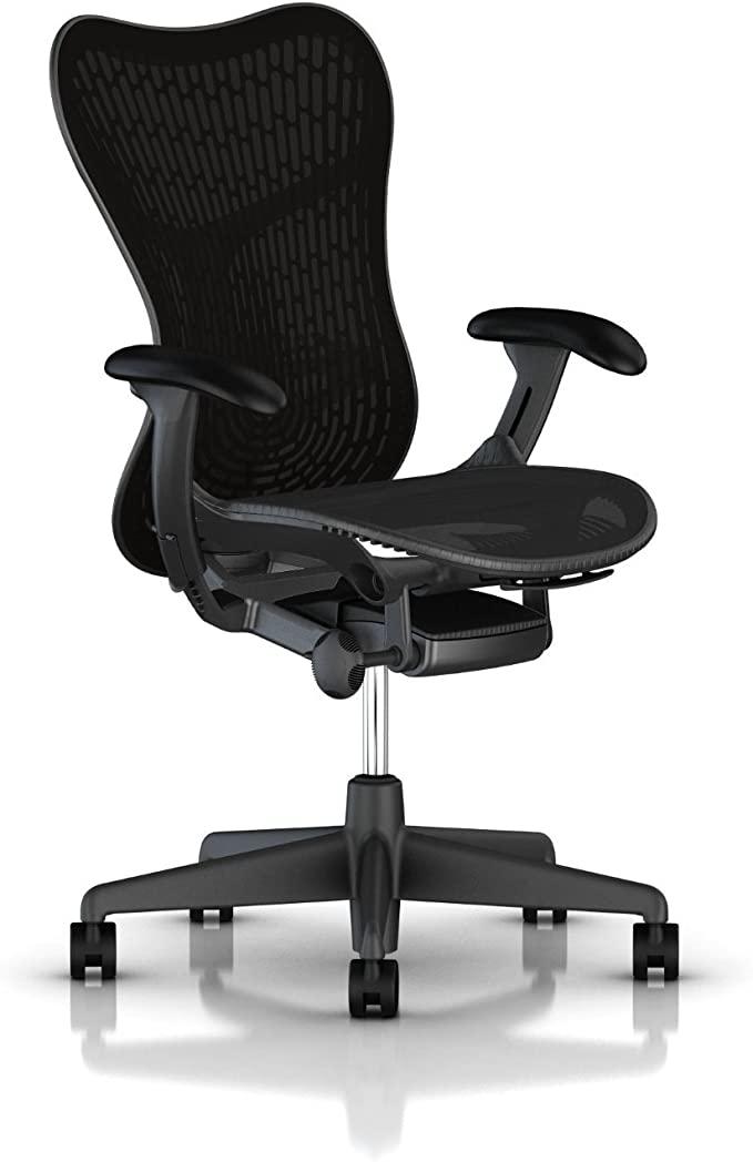 Herman Miller Mirra 2 Ergonomic Office Chair with Standard Tilt and Butterfly Back Support
