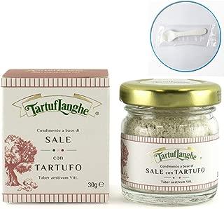 タルトゥフランゲ 黒トリュフ塩 30g トリュフ塩 イタリア 贅沢な香りで料理を引き立てる 便利なミニスプーンつき