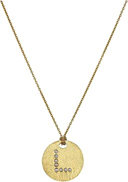 Roberto Coin - Tiny Treasures 18K Yellow Gold Initial L Pendant Necklace