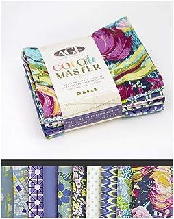 Art Gallery Curated Bundles Color Master Bundle No.14 Sapphire Shine Edition - Fat Quarter Bundle