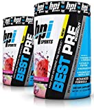 BPI Sports Best Ever Ketogenic Pre-Workout Supplement - 30 Servings, 11.11 Ounce (2 Pack) (Watermelon Ice)