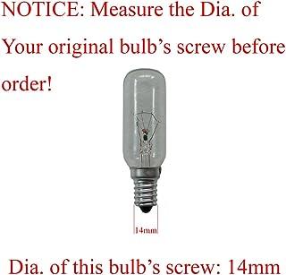 WSDCN 40 Watt 120 Volt E14 T25x82 Range Hood Bulb Kitchen Ventilator Bulb Smoke Exhauster Bulb