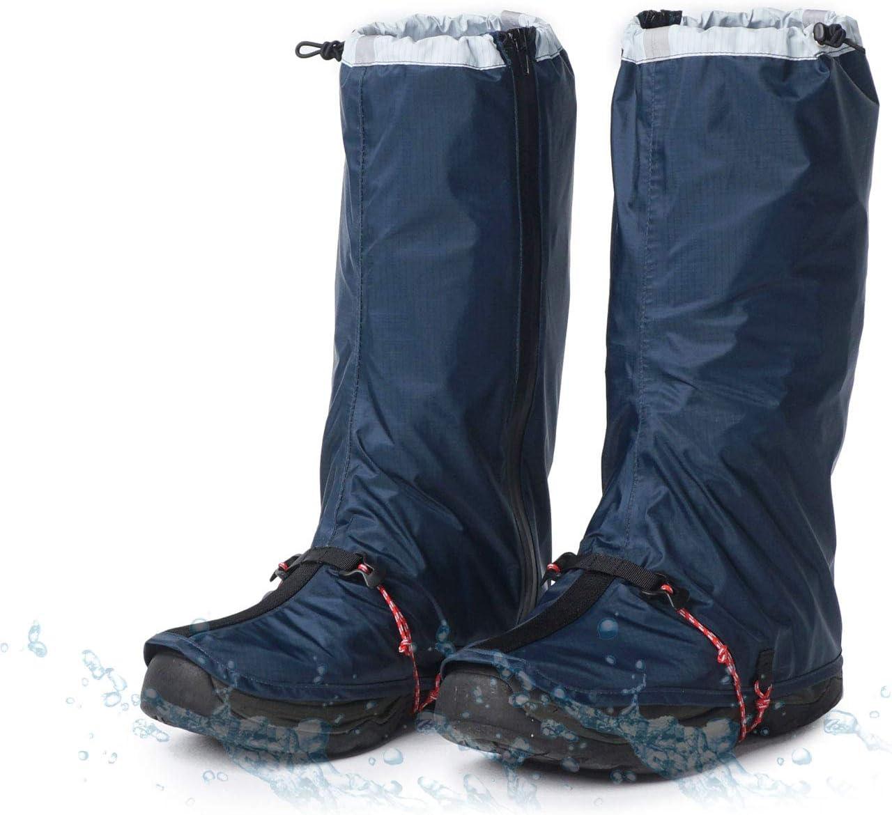 JSEVEN BurningKan Outdoor overseas Waterproof Milwaukee Mall Women for Gaiters Shoe