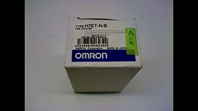 Omron 7-Digit No-Voltage Input Time Counter H7ET-N-B 8.6mm