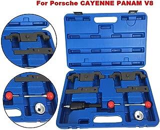 Engine Camshaft Timing Adjustment Tool Kit for Porsche Cayenne Panam V8 4.5L 4.8L V6 3.6L 9678/9595/9714 (USA Stock)