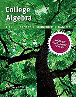 College Algebra with Integrated Review Plus Mylab Math with Pearson Etext and Worksheets -- 24-Month Access Card Package