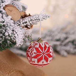 bromrefulgenc Box Decoration,Gift Box Ball Design Pendant Hanging Ornament for Christmas Tree Holiday Party Decoration 3#