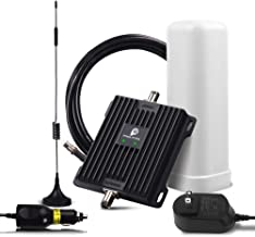Cell Phone Signal Booster for RV, Motorhome, Truck, Bus, Boat or Small House, Verizon AT&T T-Mobile 4G LTE Amplifier 700MHz Dual Band 12/13/17 Repeater Kit Enhance Cellular Voice & Data Signal in RV