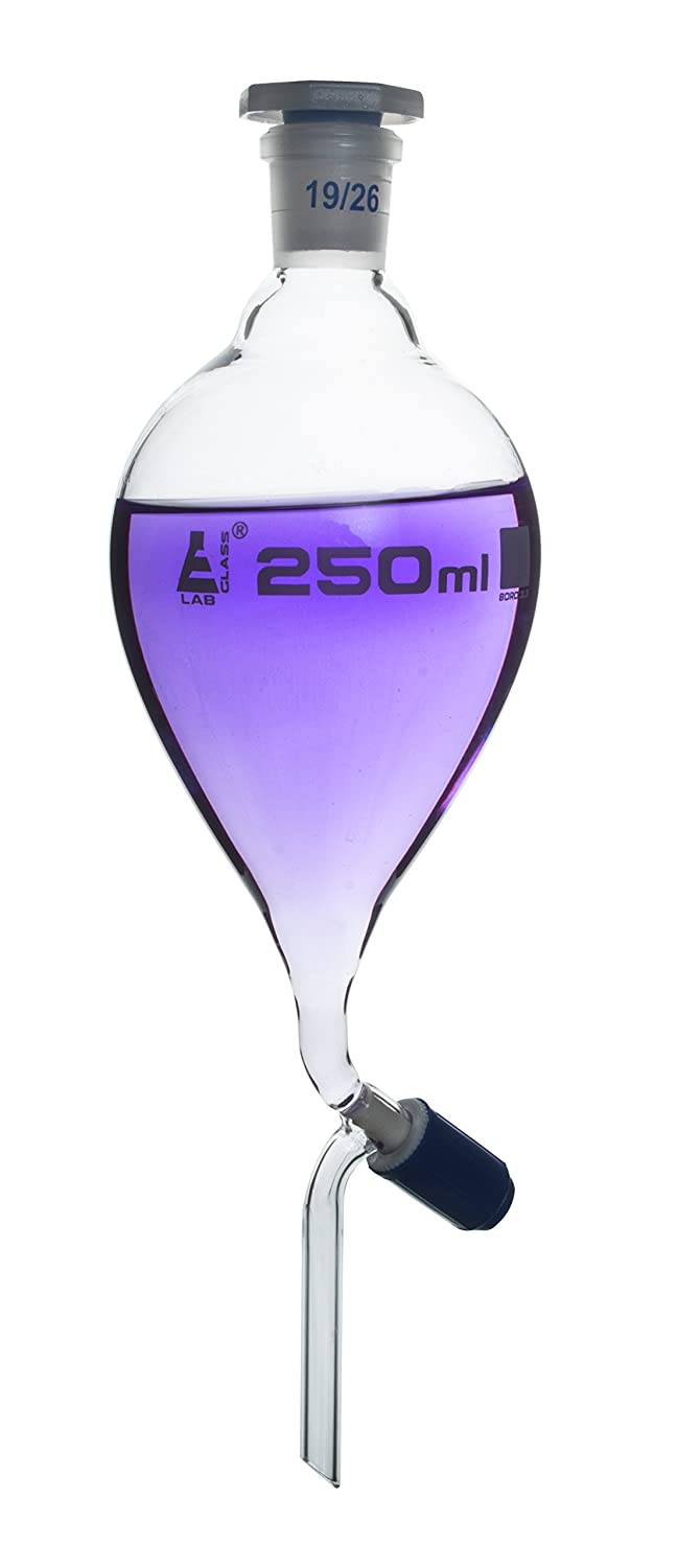 Separating Funnel Max 48% OFF 250ml Max 80% OFF - Pressure Pear Equalizing Shaped 19