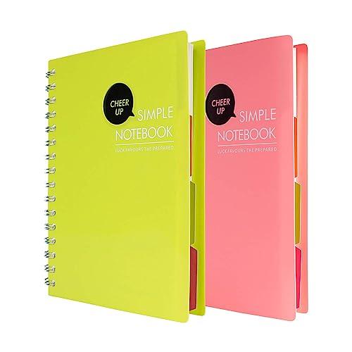 Multi-subject Spiral Notebooks: Amazon.com
