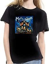 XUNLINLL Manowar Album Women's T Shirt Black