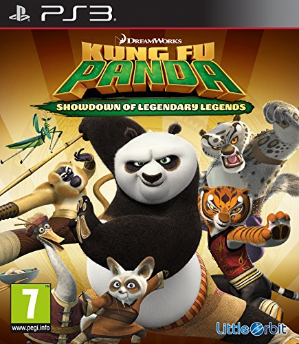 PS3 Kung Fu Panda Showdown der Legenden UK Import auf deutsch spielbar