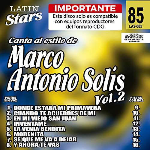 Karaoke: Marco Antonio Solis 2 - Latin Stars Karao