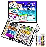 Zebra Pen Cadoozles Mechanical Pencil Classroom Pack, 0.9mm Point Size, Standard HB Lead, 8 Assorted Barrel Patterns, 320-Count