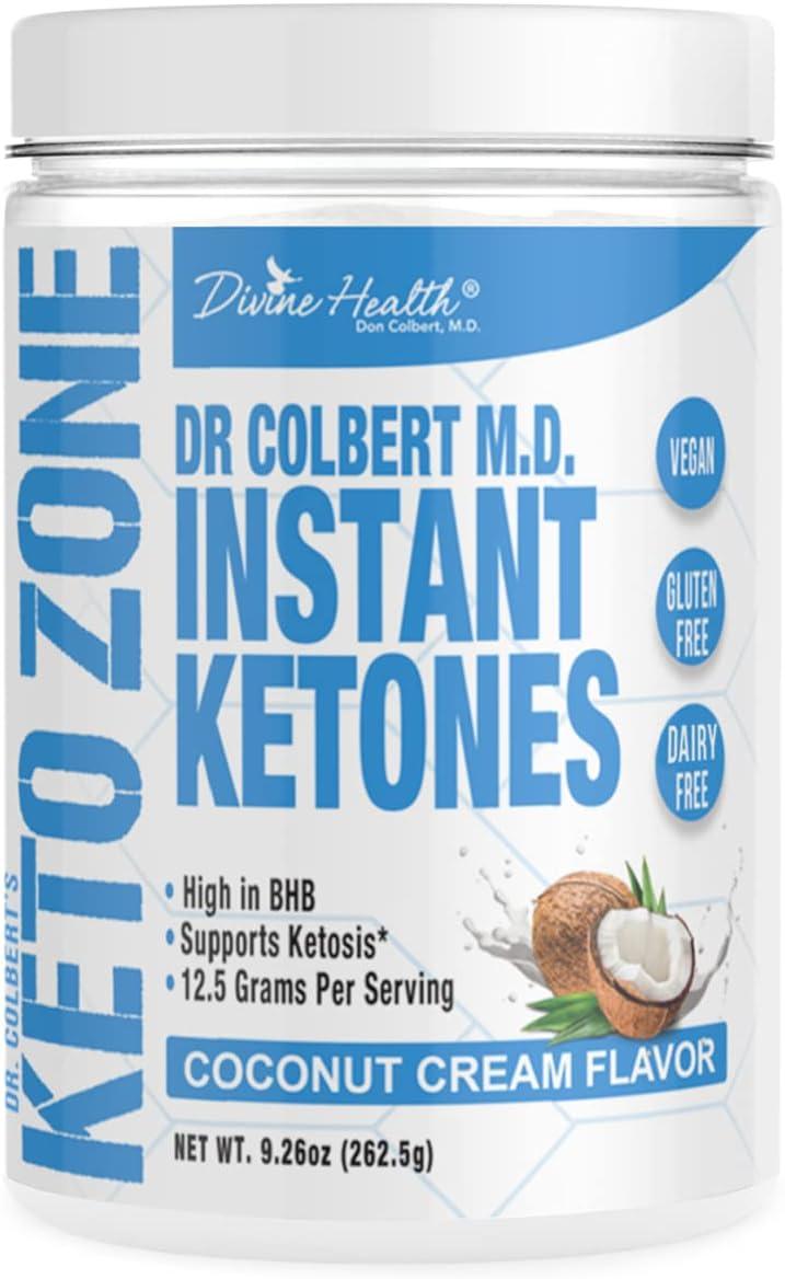 Keto Zone Instant Detroit Mall OFFicial store Ketones Powder Flavor Exogenous Ke Coconut -