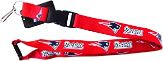 aminco NFL New England Patriots Team Lanyard, Red