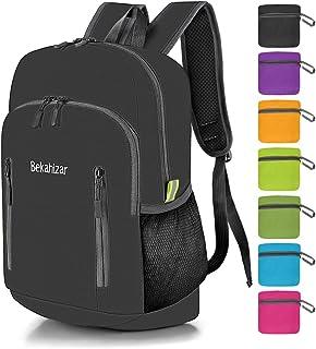 Bekahizar 20L Ultra Lightweight Backpack Foldable Hiking Daypack Rucksack Water Resistant Travel Day Bag for Men Women Kid...
